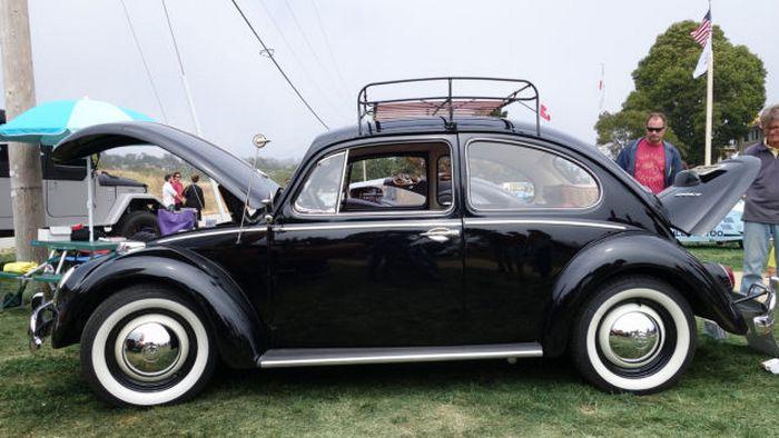 Электрический VW Beetle.