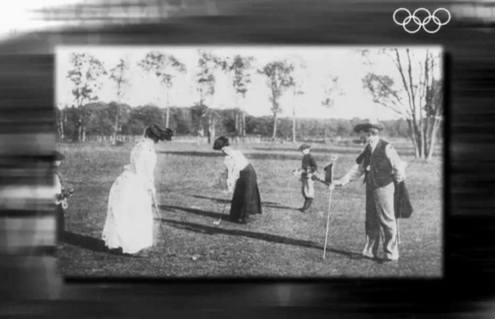 Крокет на Парижских олимпийских играх 1900 года.