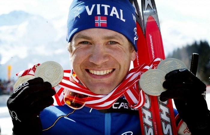 Норвежский лыжник Бьорн Дэли.