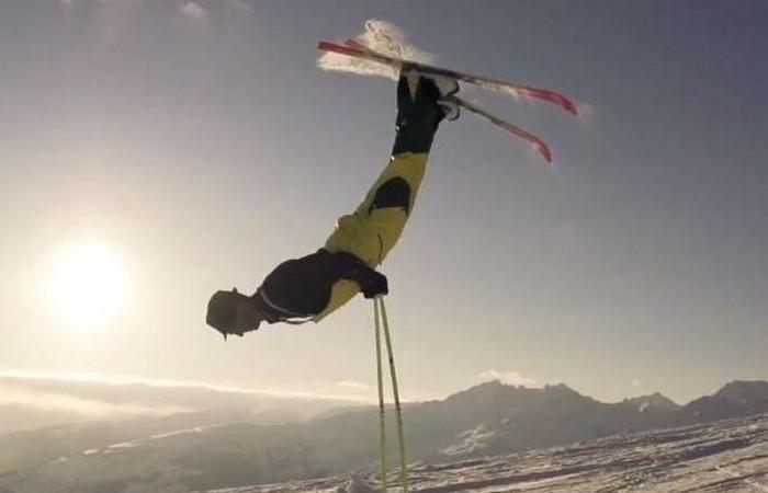 Устаревшая олимпийская дисциплина: лыжный балет.