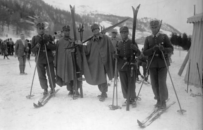 Устаревшая олимпийская дисциплина: военный патруль.