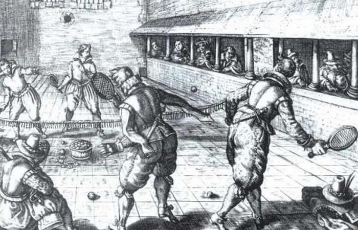 Устаревшая олимпийская дисциплина: Же де Пом.