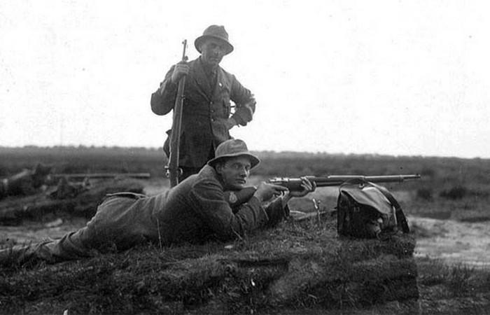 Устаревшая олимпийская дисциплина: стрельба по оленям.