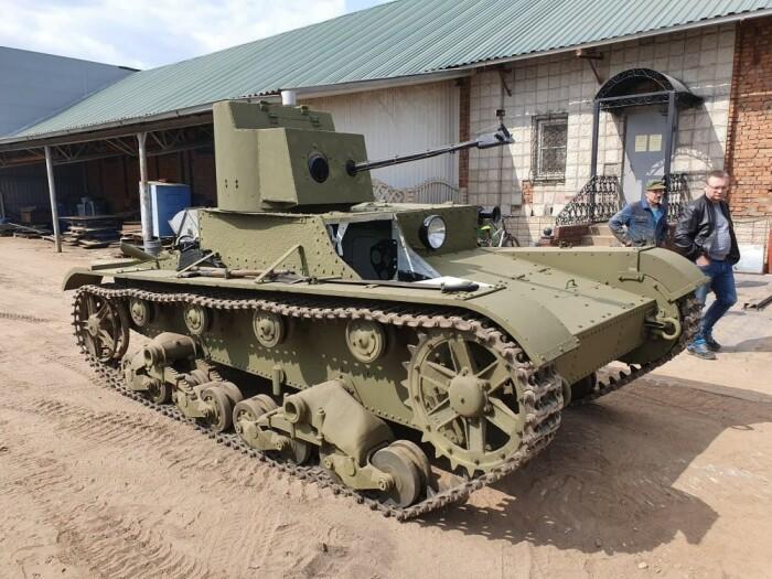 Первый огнеметный танк создан в СССР. |Фото: livejournal.com.