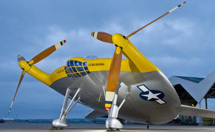 Первый самолет с вертикальным взлетом. |Фото: mansden.ru.