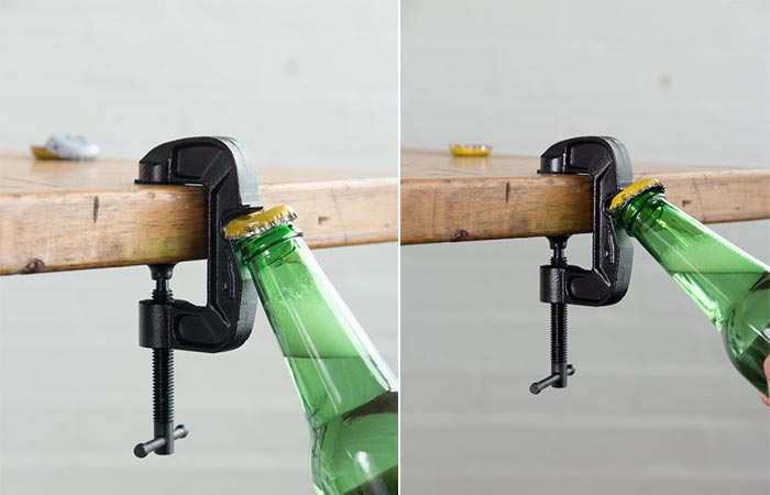 Открывашка G-Clamp Bottle Opener.