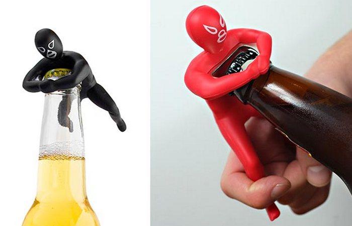Диковинная открывашка Luchador Bottle Opener.