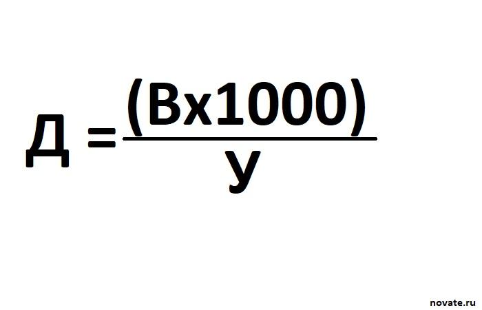 Формула по которой считается расстояние. ¦Фото: novate.ru.