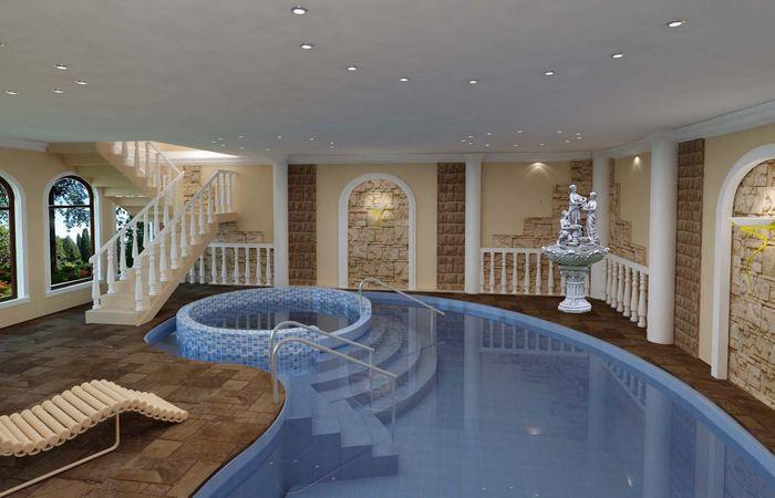 Просто роскошь: бассейн.