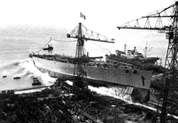 Потом корабль перешел к Германии.