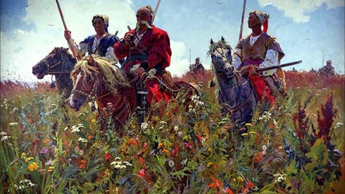 Запорожские казаки очень любили брать турецкие ятаганы в качестве трофеев. ¦Фото: yandex.ru.