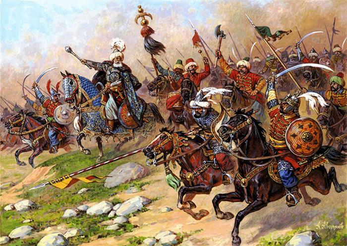 Войско турков не так уж сильно отличалось от европейского. |Фото: yandex.ru.