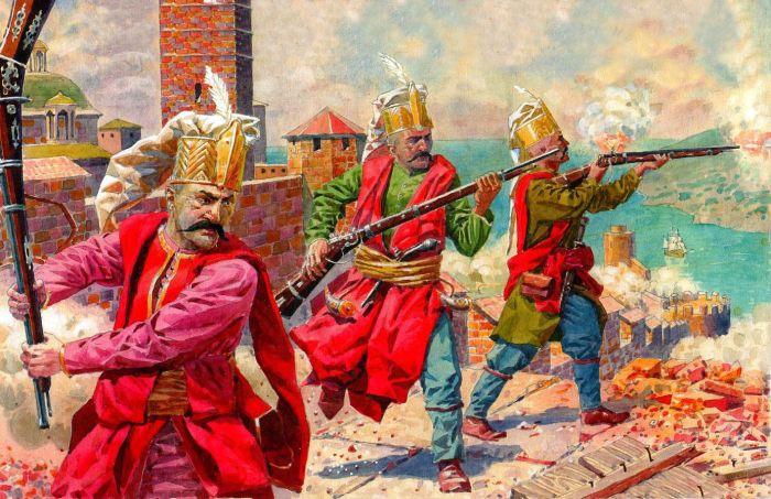 Янычары были очень сильной пехотой. |Фото: yandex.ru.