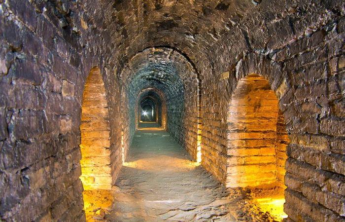 Под крепостью были галереи на случай подкопа. |Фото: livejournal.com.