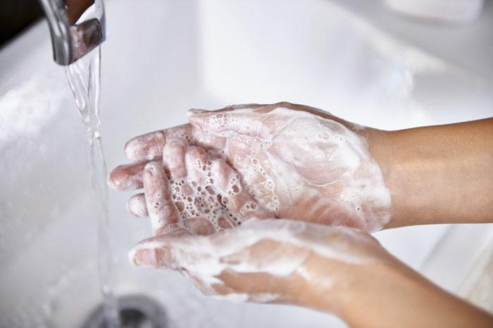 Обычное мыло прекрасно справляться с поставленной задачей. ¦Фото: kurilbrosil.ru.