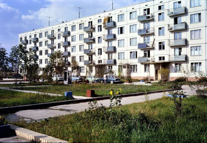 Высота домов выбиралась не просто так. | Фото: fotostrana.ru.