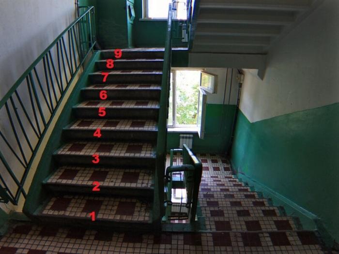 Обычно или 9 или 11 ступенек. | Фото: ya.ru.