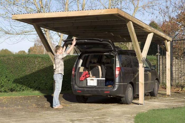 Парковочные места или гаражи есть не у всех. |Фото: fs-montagen.ch.
