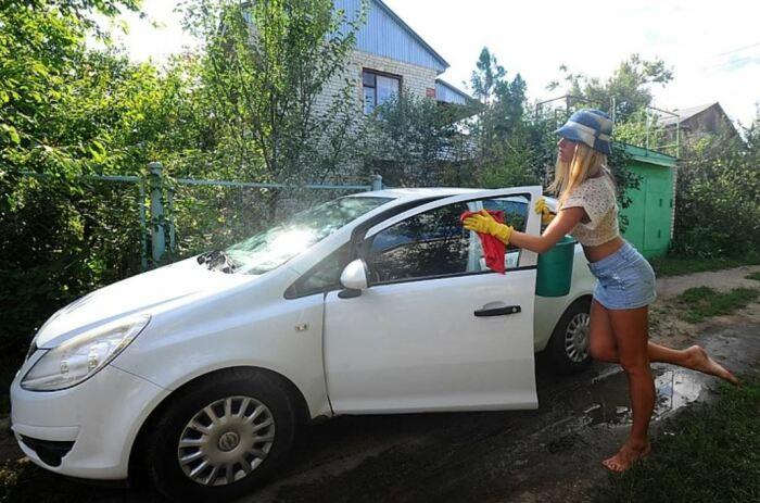 Главное, чтобы машина не загораживала. ¦Фото: ya.ru.