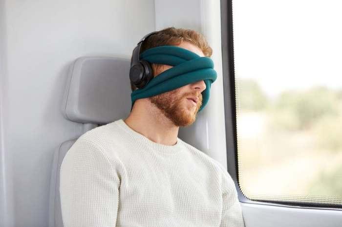 Новая повязка для глаз.
