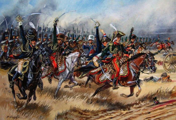 В итоге на смену чулкам в кавалерии пришли рейтузы. ¦Фото: reibert.info.