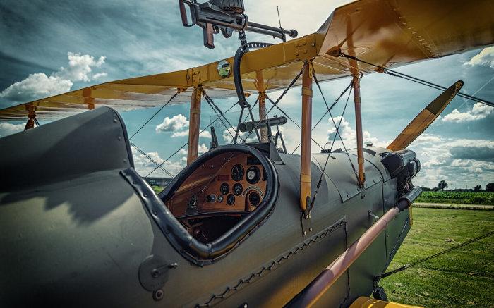 Вот кокпит самолета тех времен. ¦Фото: ya.ru.