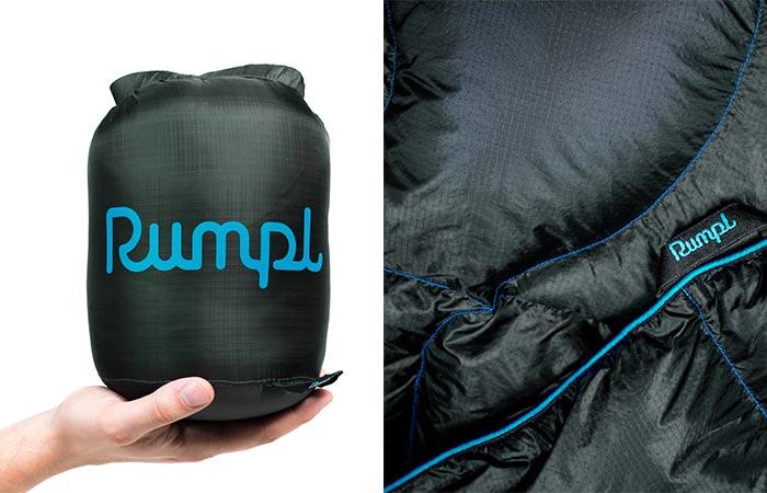 Rumpl: прекрасное качество и удобство транспортировки.