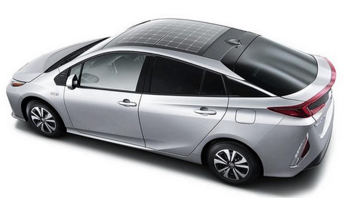 180-Ваттная крыша повышает эффективность автомобиля на 10%.