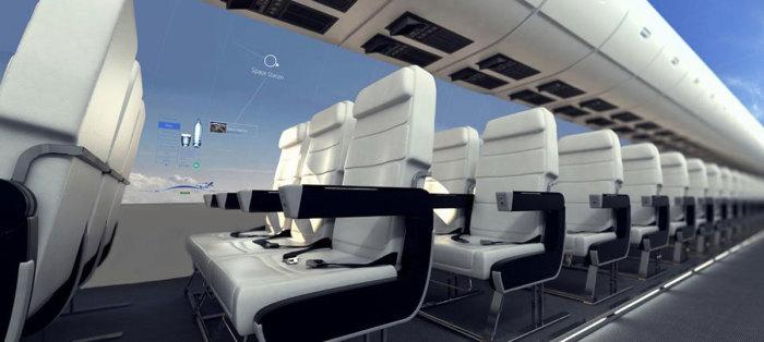Вот такими станут все салоны самолетов.