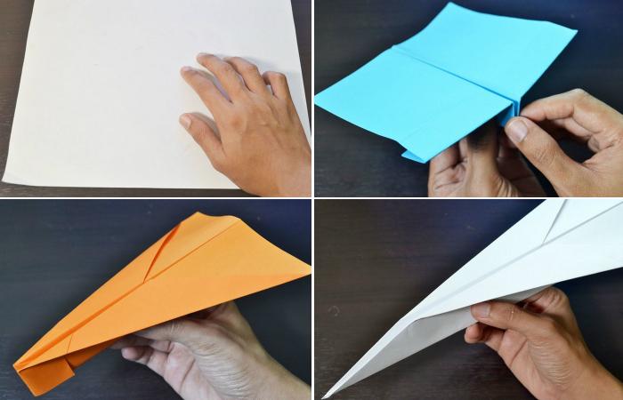Бумажные самолётики.