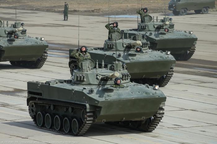 Боевая машина десанта БМД-4М.