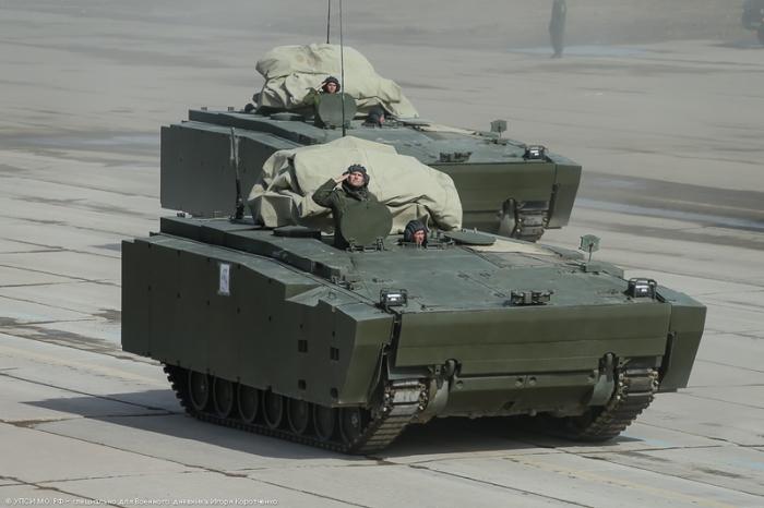 Средняя гусеничная платформа Курганец-25