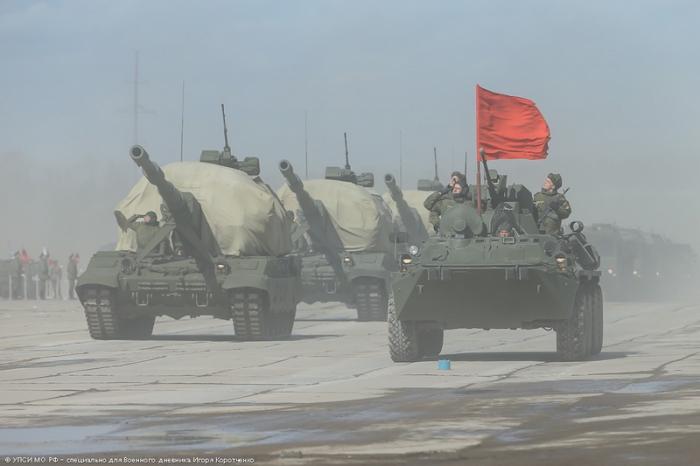 Самоходная артиллерийская установка Каолиция-СВ