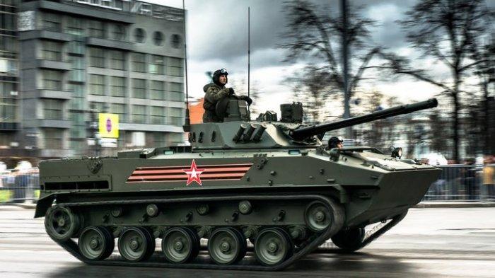 Уникальная  БМД-4М. Автор фото: Герасимов Игнат.