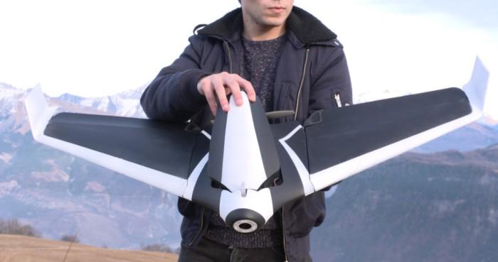 Новый дрон, который позволит взглянуть на мир с высоты птичьего полёта.