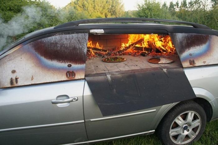 Бедненький автомобиль.