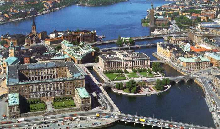 Скучная Швеция.