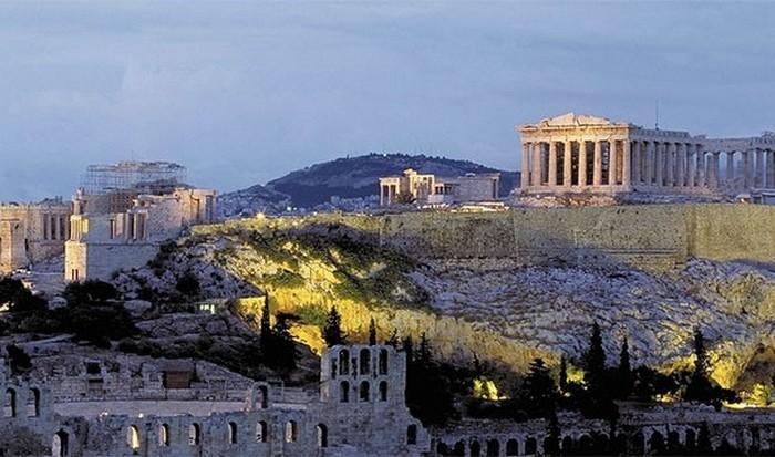 Небогатая Греция.