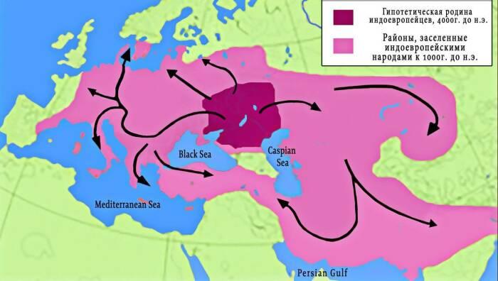 Индоевропейцы - общий корень многих современных народов Азии и Европы.  Фото: Pinterest.