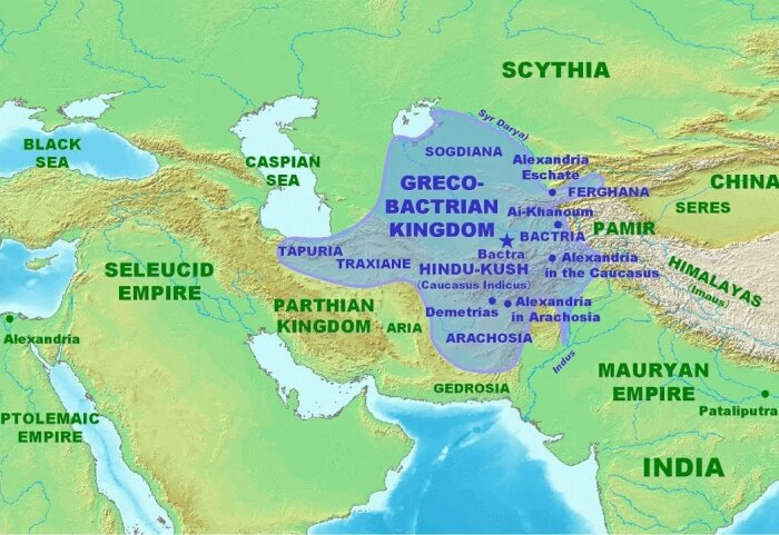 Бактрийское царство место, где греки и македонцы смешались с коренными народами.  Фото: phonoteka.org.