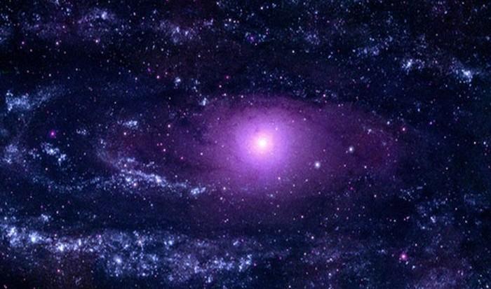 Потрясающая фотография: галактика Андромеды.