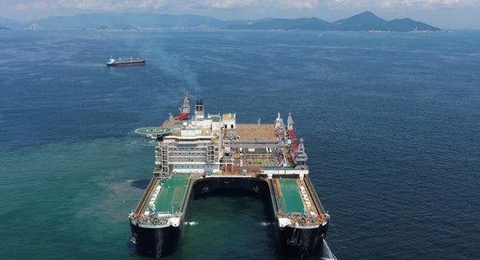 Самое большое в мире судно.