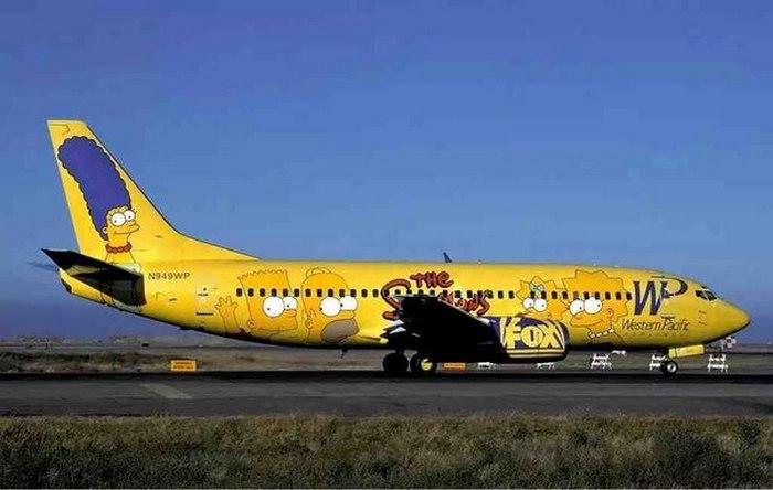 Western Pacific – Самолет Симпсонов.