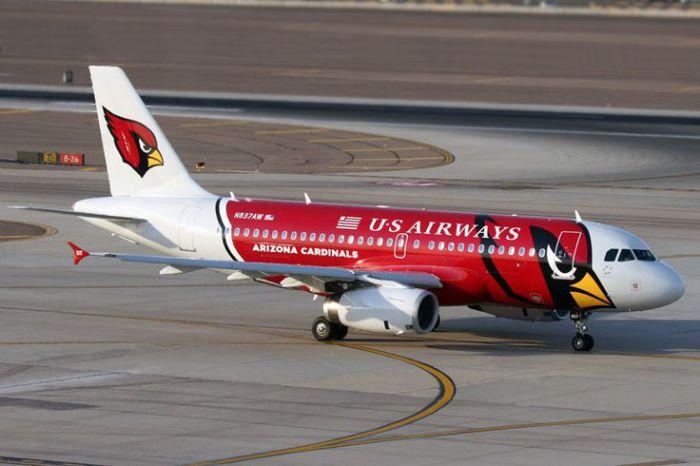 US Airways – Аризонские кардиналы.