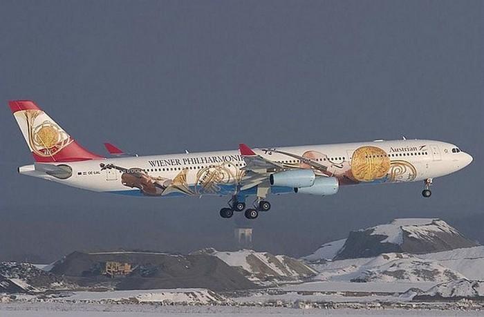 Austrian Airlines - Венский филармонический оркестр.