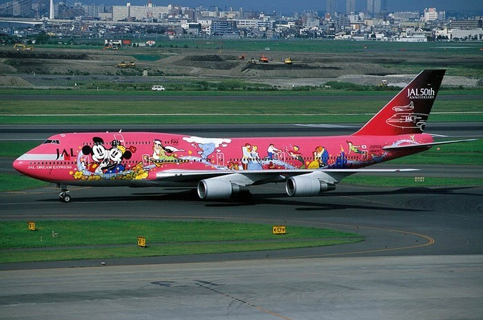 Japan Airlines – Самолет Диснея.