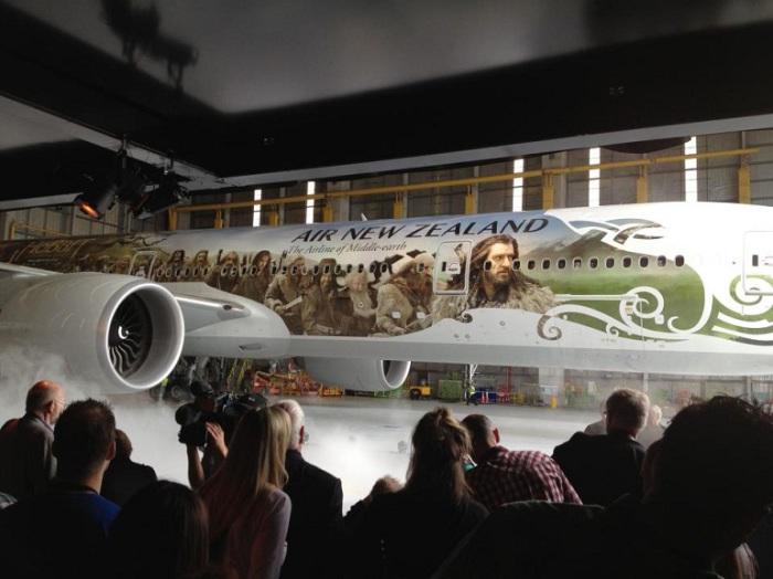 Air New Zealand - Хоббит.