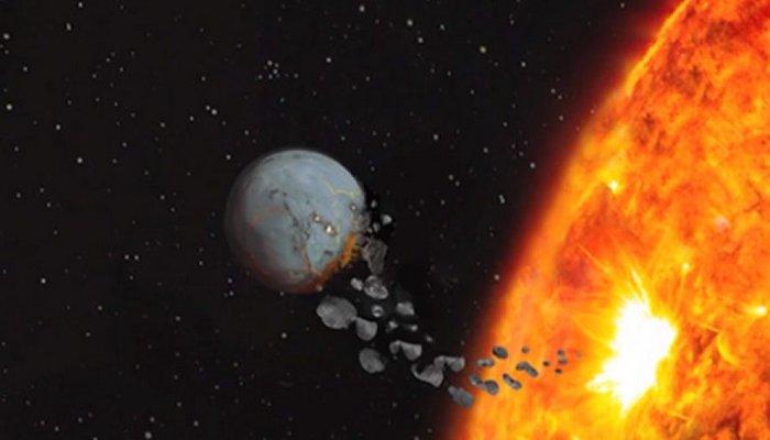 Через 5 млрд лет Солнце «проглотит» Венеру.