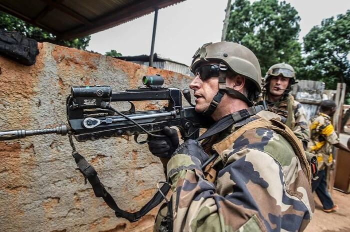 Винтовка остается по большей части французской.  Фото: guns.allzip.org.