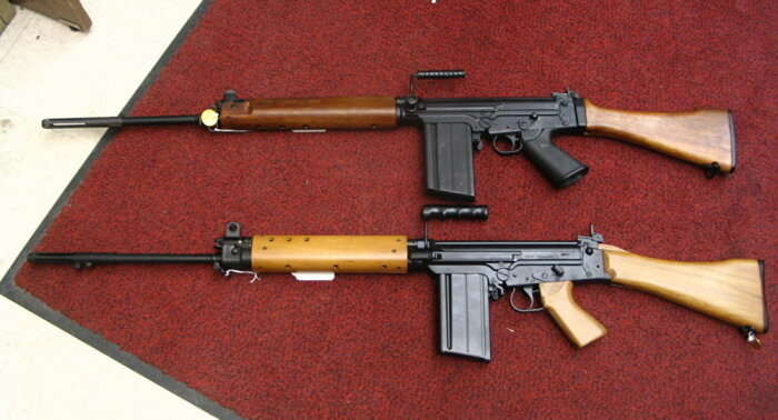 А это бельгийская винтовка.  Фото: sputniknews.com.
